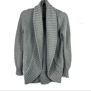 Express chunky grey cardigan